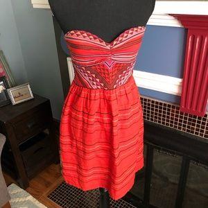 Roxy Dress, Sz s, strapless